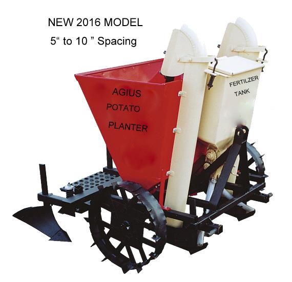 Potato Planter 2 row