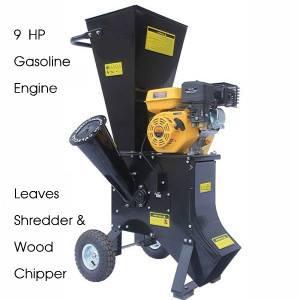 Wood Chipper & Leaves Shredder